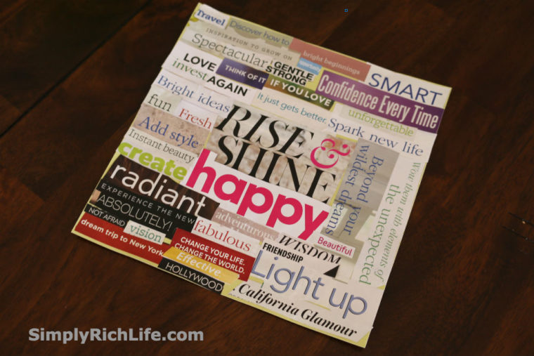 Vision Boards That Work - SimplyRichLife.com